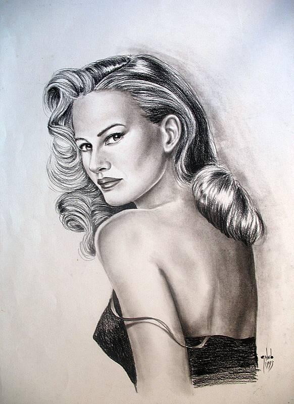 portrait crayonné
